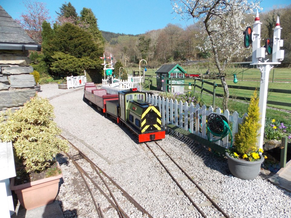 The Millerbeck Light Railway, a private railway situated in the grounds of Millerbeck House